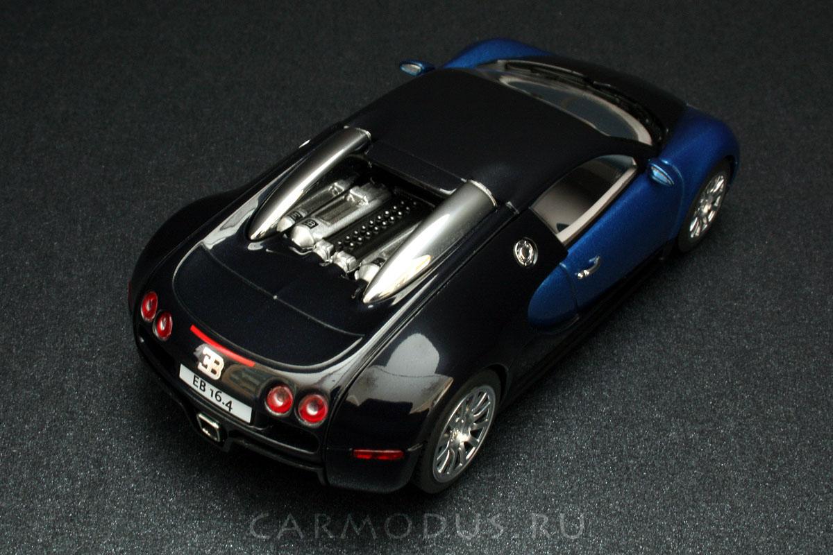 Bugatti EB 16.4 Veyron (2005) - AUTOArt 1:43