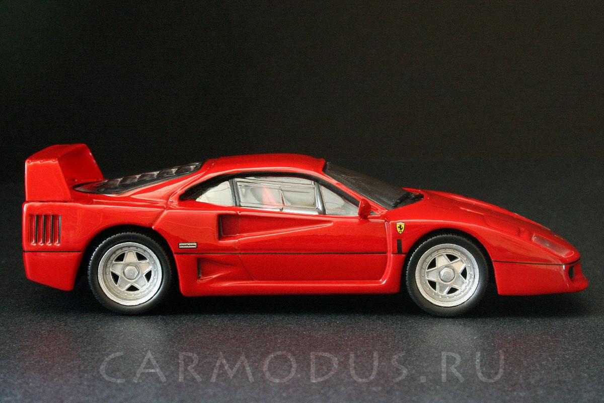 Ferrari F40 (1987) – GE Fabbri 1:43