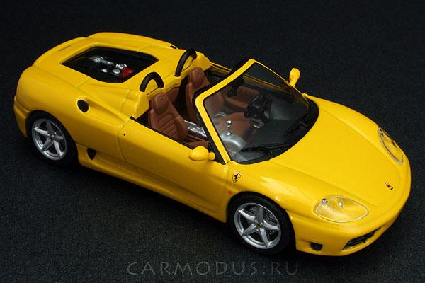 Ferrari 360 Spider (2000) – Hot Wheels 1:43