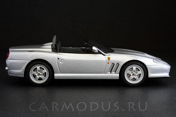 Ferrari 550 Barchetta Pininfarina (2000) – Hot Wheels 1:43