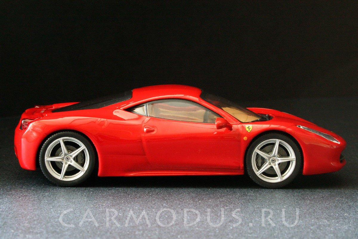 Ferrari 458 Italia (2009) – GE Fabbri 1:43