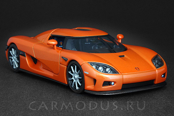 Koenigsegg CCX (2006) Orange – AUTOart 1:43