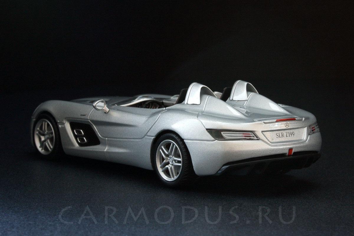 Mercedes-Benz SLR McLaren Stirling Moss (2009) - MINICHAMPS 1:43