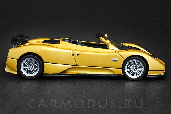 Pagani Zonda C12S Spider (2003) Metallic Yellow, Limited Edition 1000 – Spark 1:43